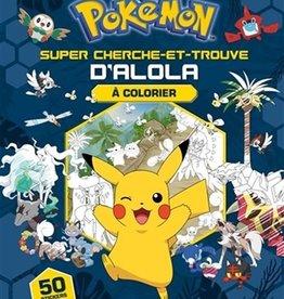 DRAGON D'OR Pokémon : le méga cherche et trouve d'Alola à colorier