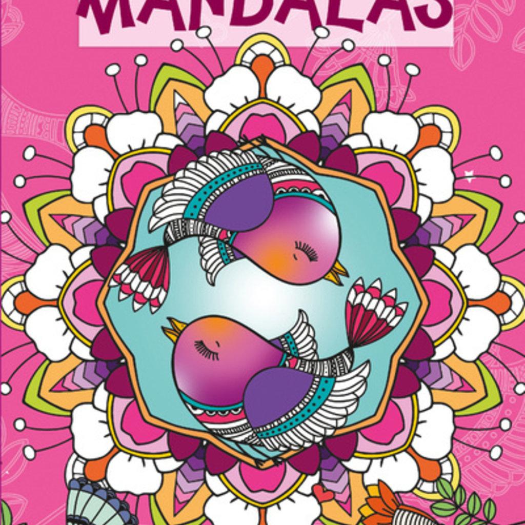 HEMMA Mandalas Color zen Oiseaux
