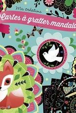 GRUND Carte à gratter Mandalas
