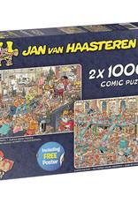 Jan van Haasteren 2 x 1000mcx reveillon,L'usine santa