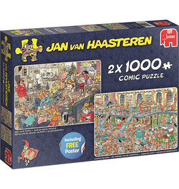 Jan van Haasteren 2 x 1000mcx reveillon,L',usine santa