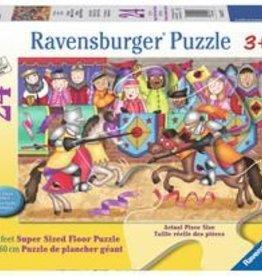 Ravensburger Casse-tête de plancher À la joute ! 24 pièces