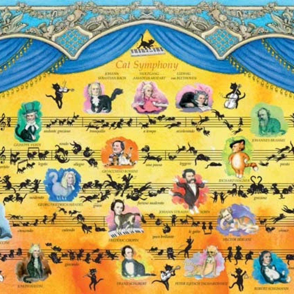 Heye La symphonie des chats 2000 pièces