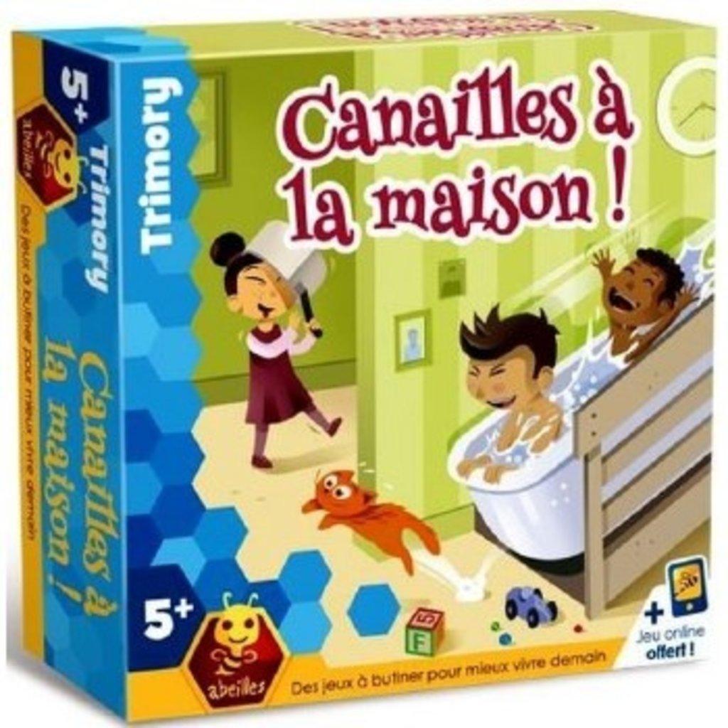 Abeilles CANAILLES A LA MAISON