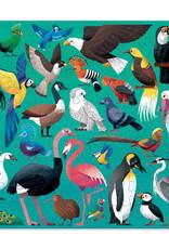 Crocodile Creek Crocodile Creek Trente-six oiseaux du monde 100 pieces