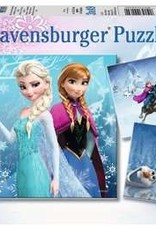 Ravensburger Aventures au pays des neiges 3 x 49 pièces