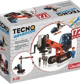 Quercetti Tecno Advanced 172pcs à construire