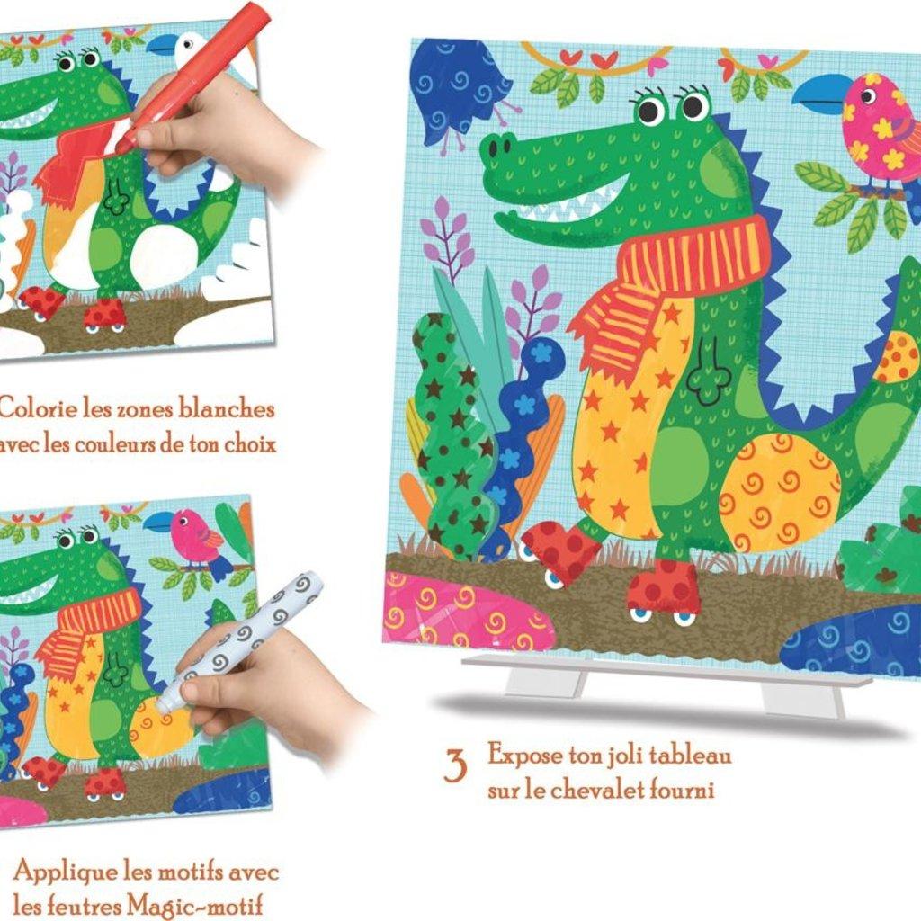 Crealign Coloriage magique- Animocolo
