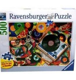 Ravensburger Vive le Vinyl! 500 xxl pièces