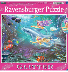 Ravensburger Petites sirènes  scintillantes 100 pièces