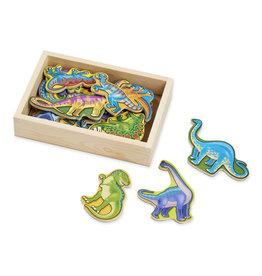 Melissa & Doug Dinosaures en bois magnétique