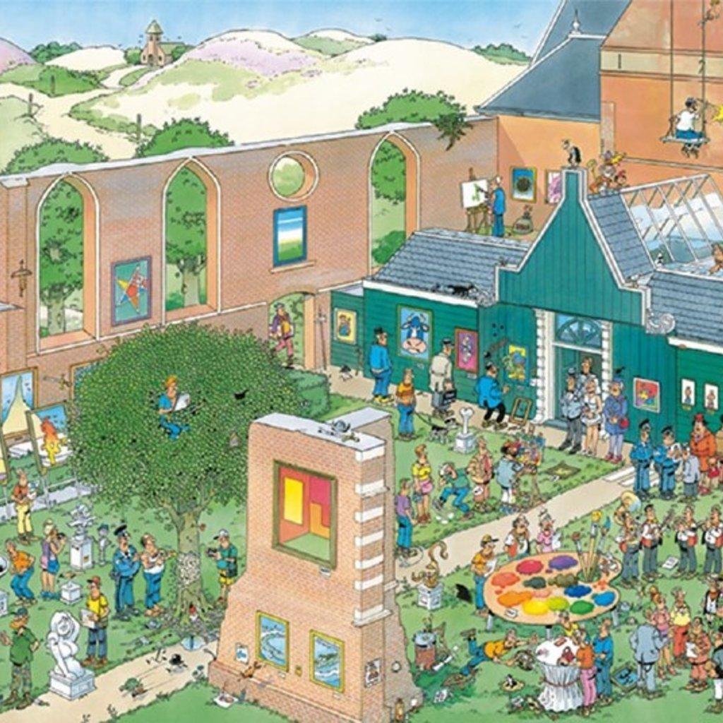 Jan van Haasteren Le marché de l'art 2000 pièces