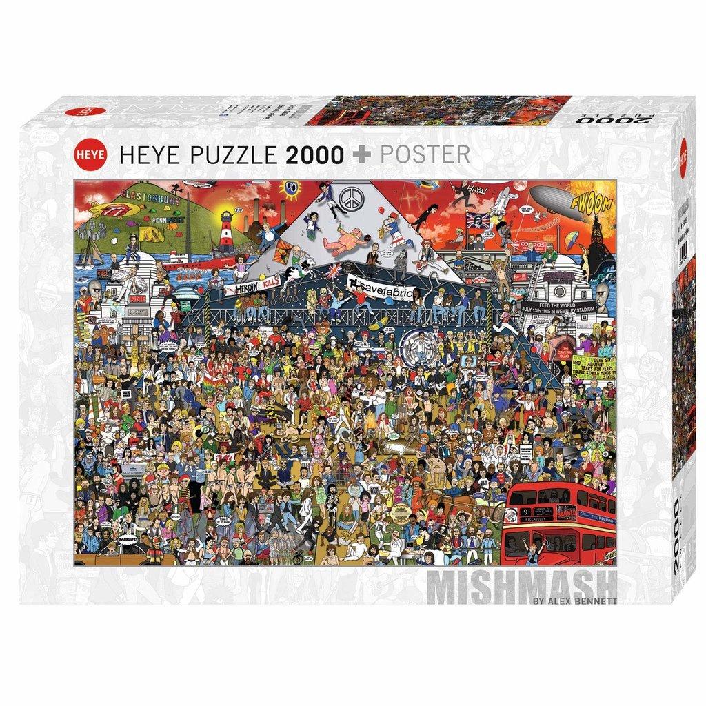 Heye Histoire de la musique britannique 2000 pièces