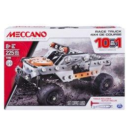 Meccano 10 modeles en 1-4x4 de course
