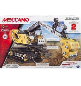 Meccano Coffret 2-en-1 Pelleteuse
