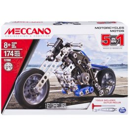 Meccano 5 modèles en 1-moto
