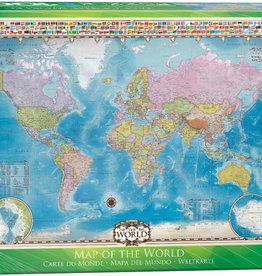 Eurographics Carte  du monde  1000 pièces