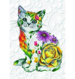 Diamond Dotz -Chat de Fleur