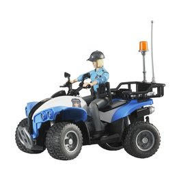 Bruder Police Quad avec lumière & acc