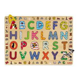 Djeco Puzzle en bois ABC 26 pcs