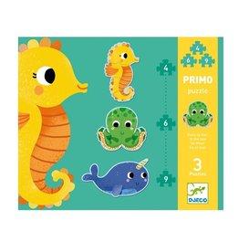 Djeco Primo puzzle Dans la mer