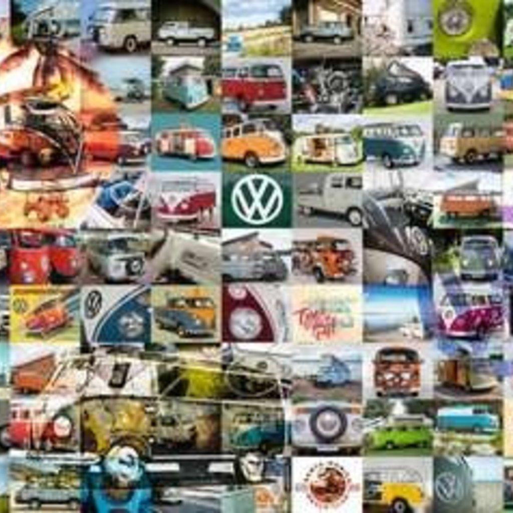 Ravensburger 99 VW Combi Moments 3000 pc Puzzles