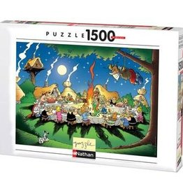 NATHAN Le banquet Astérix&Obélix 1500 pièces