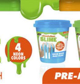 Crazy art Nickelodeon  Slime  Fluo Préfabriquée 4 pieces