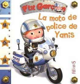 Fleurus La Moto de police de Yanis