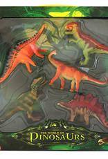 Le monde des dinosaures Figurines Dinosaures 5 pièces