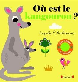 GRUND Où est le kangourou ?(Avec volets feutrines)