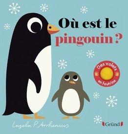 GRUND Où est le pingouin ?(Avec volets feutrine)