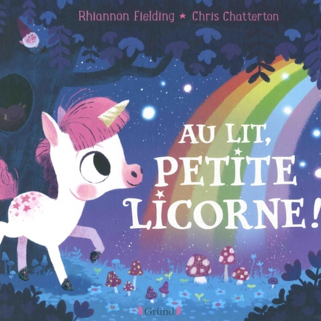 GRUND Au lit, petite licorne !