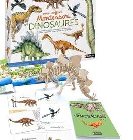 NATHAN Mon coffret Montessori. Dinosaures