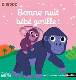 NATHAN Bonne nuit petit gorille !