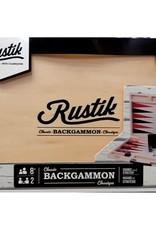 Rustica Backgammon - Valise en bois