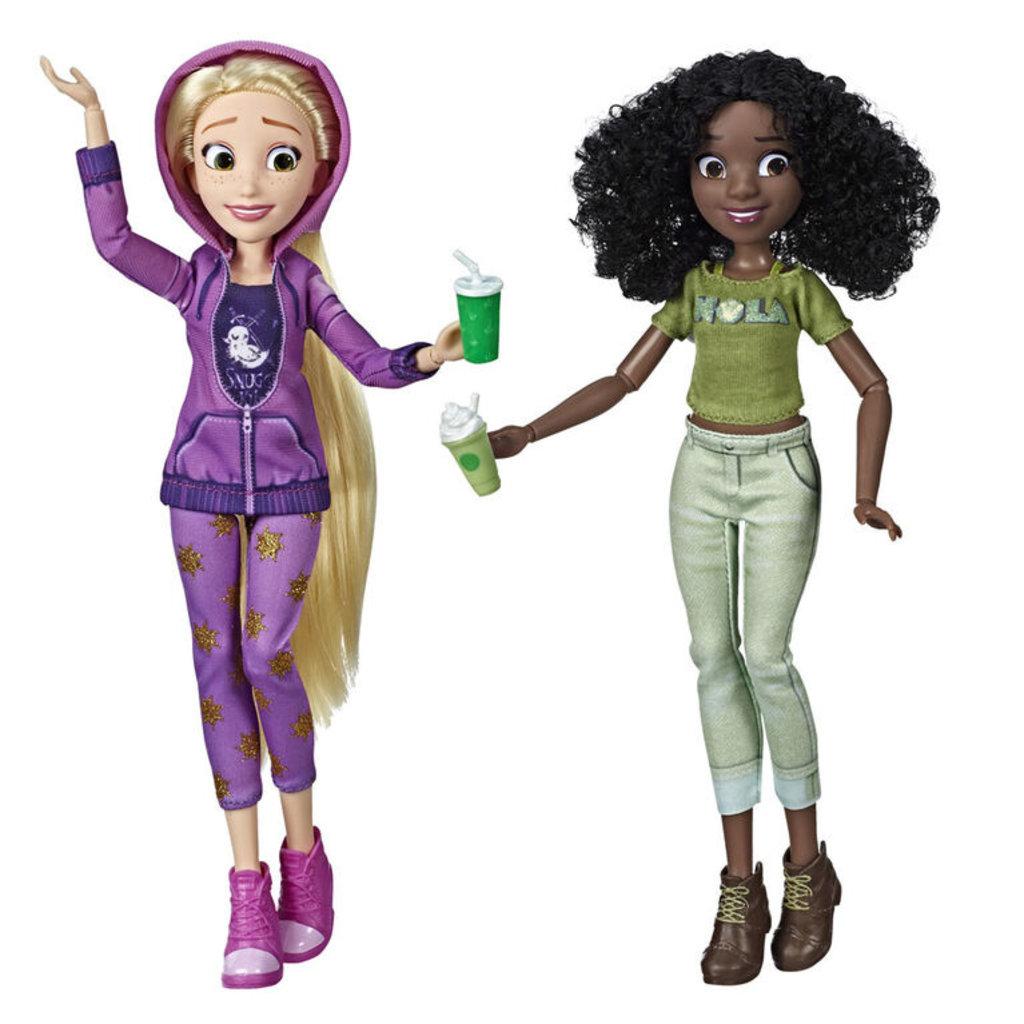 Hasbro Disney Princess - Poupées Raiponce et Tiana inspirées du film Ralph brise l'Internet