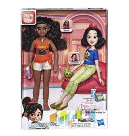 Hasbro Disney Princess - Poupées Moana et Blanche-Neige inspirées du film Ralph brise l'Internet
