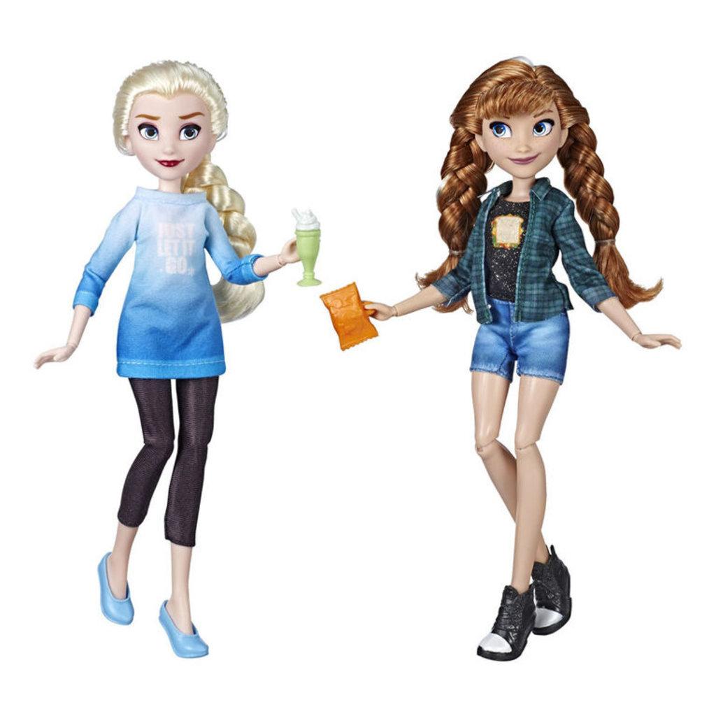 Hasbro Disney Princess - Poupées Elsa et Anna inspirées du film Ralph brise l'Internet
