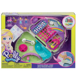 Mattel Polly pocket - Ensemble de jeu sac a main