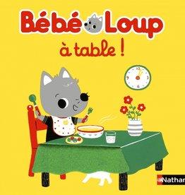 NATHAN Bébé Loup à table!