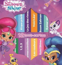 PRESSES AVENTURE Shimmer & Shine : Ma première bibliothèque 12 tout carton