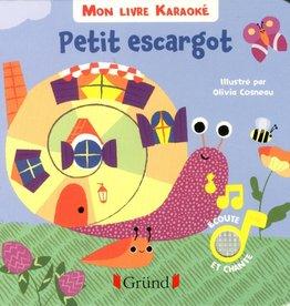 GRUND Mon livre karaoké Petit escargot