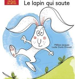 DOMINIQUE & CIE À pas de souris:  Le lapin qui saute
