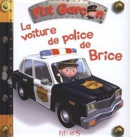 Fleurus La Voiture de police de Brice