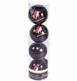 Team canada mini-hockey-balles-4 pack
