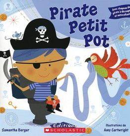 Scholastic Pirate Petit Pot (Avec auto-collants)