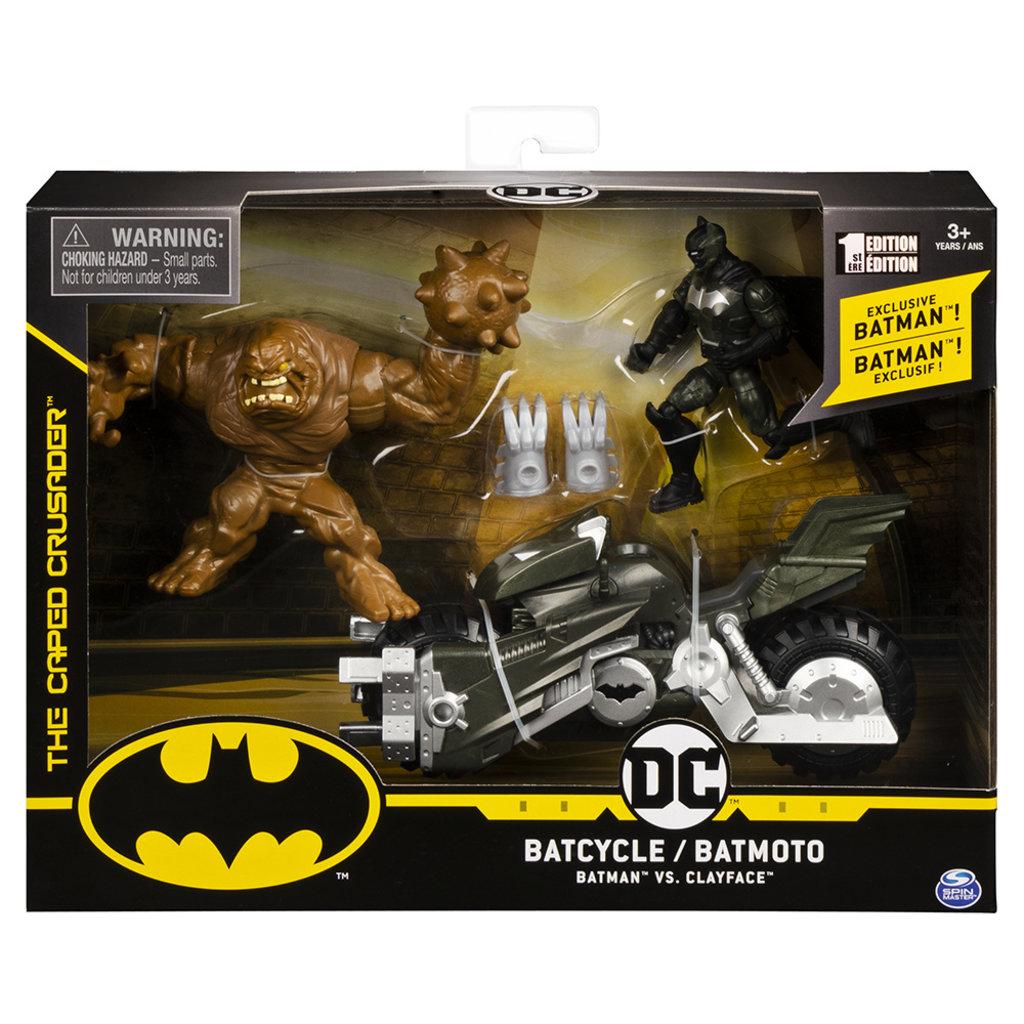 Spin Master Batman   Batcycle & figurine 10 cm
