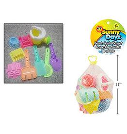 Sunny Dayz Ensemble d'outils de plage 9 pièces
