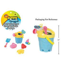 Sunny Dayz Ensemble d'outils de plage 8 pièces